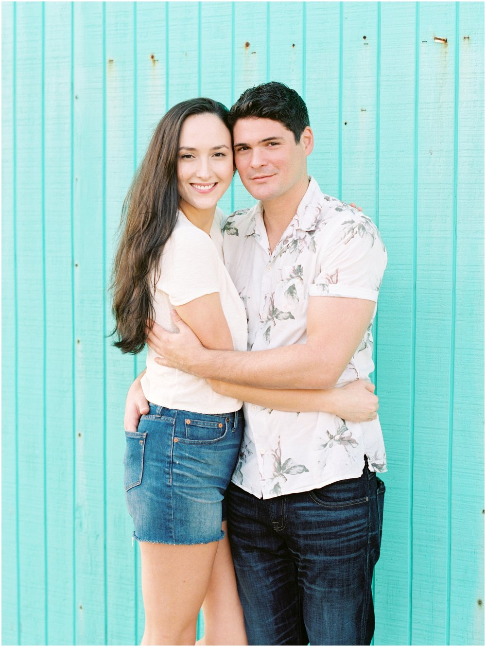 Lisa Silva Photography -Engagement Session at Neptune Beach, Florida- Jacksonville and North East Florida Fine Art Film Photographer_0028.jpg