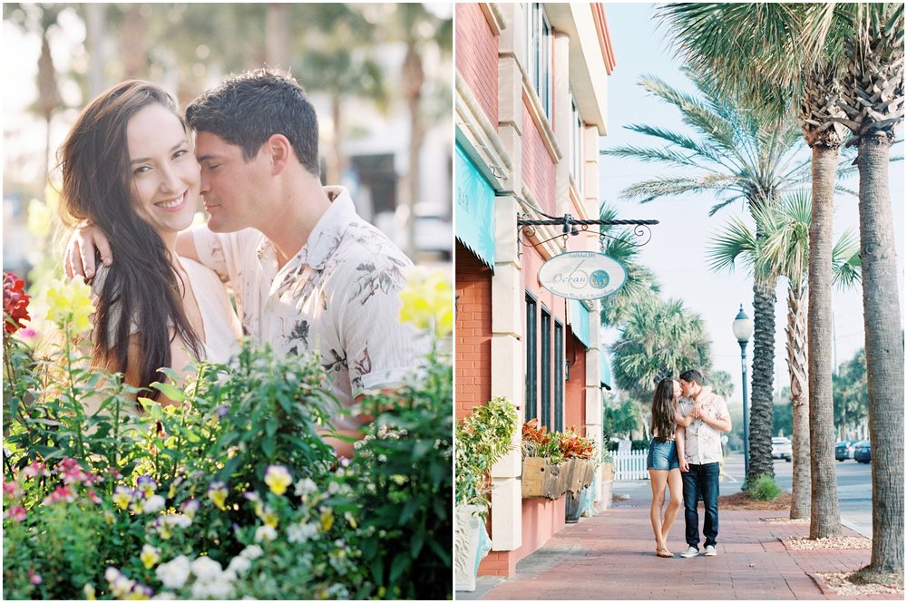 Lisa Silva Photography -Engagement Session at Neptune Beach, Florida- Jacksonville and North East Florida Fine Art Film Photographer_0032.jpg