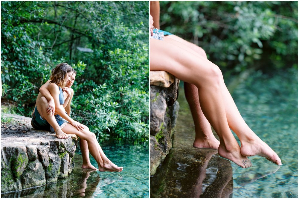 Lisa Silva Photography -Couples Session at the Ichetucknee River- Jacksonville and North East Florida Fine Art Film Photographer_9.jpg