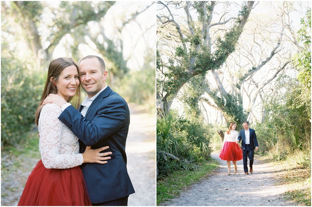 Lisa Silva Photography -Engagement Session at Big Talbot Island- Jacksonville and North East Florida Fine Art Film Photographer_0005.jpg