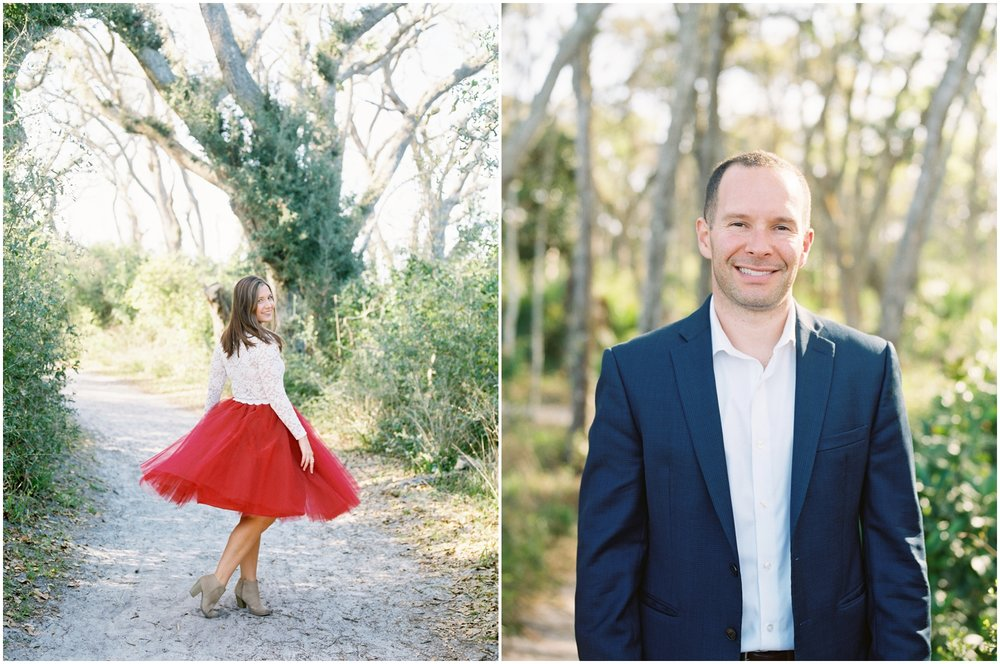 Lisa Silva Photography -Engagement Session at Big Talbot Island- Jacksonville and North East Florida Fine Art Film Photographer_0008.jpg