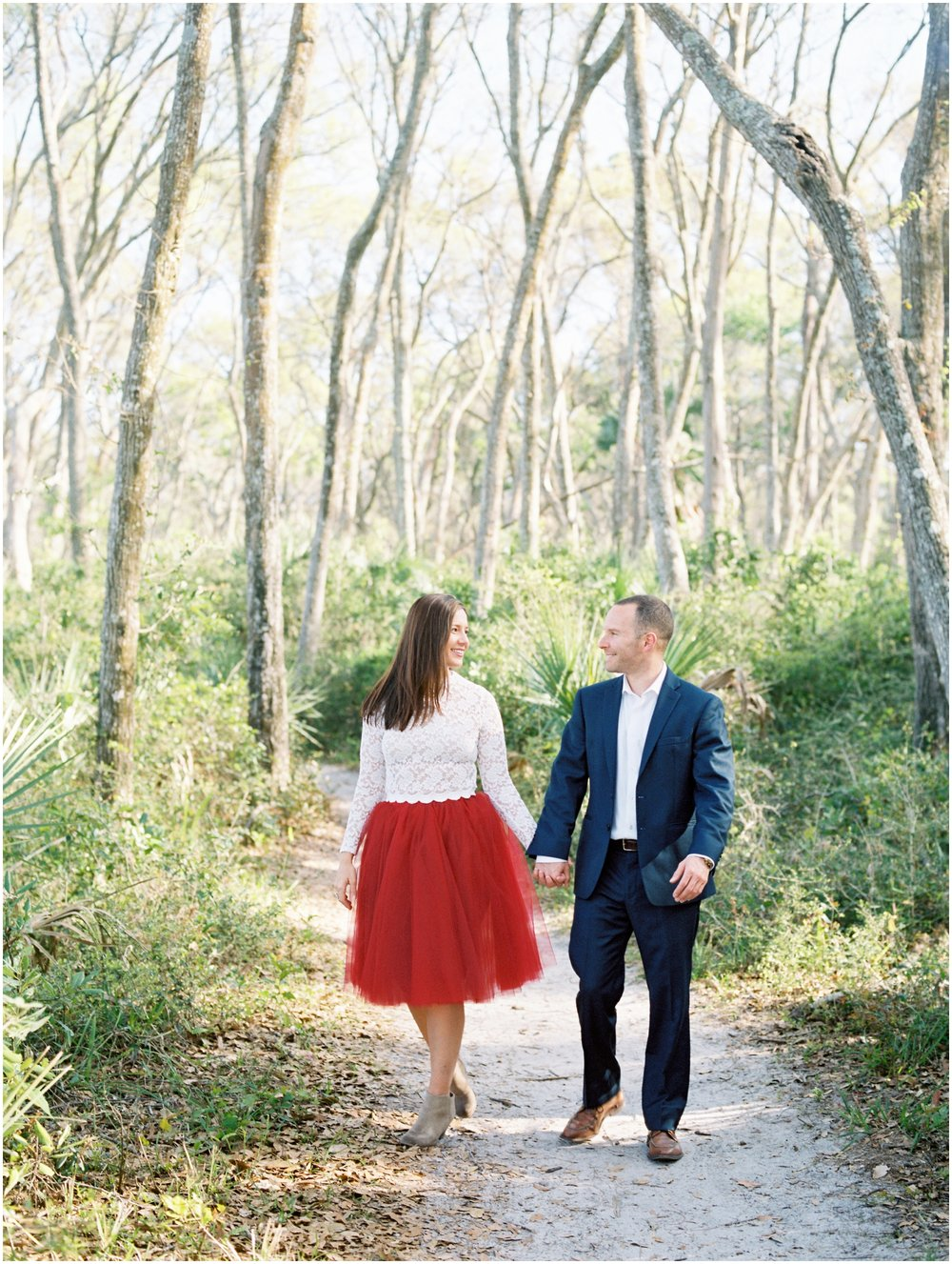 Lisa Silva Photography -Engagement Session at Big Talbot Island- Jacksonville and North East Florida Fine Art Film Photographer_0010.jpg
