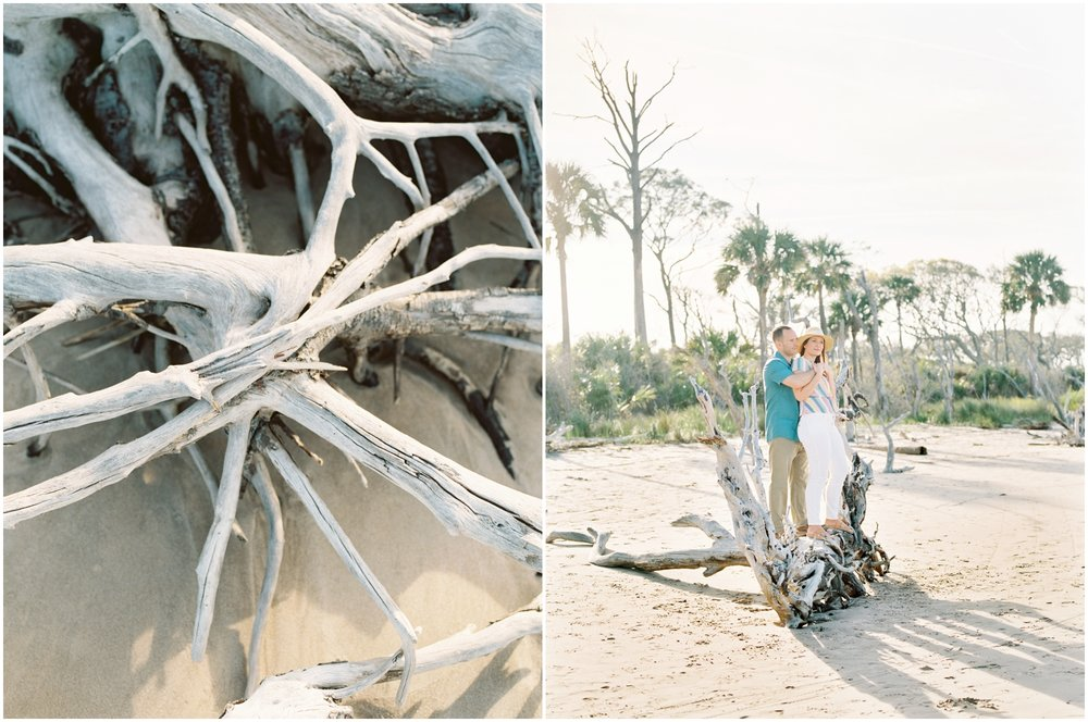 Lisa Silva Photography -Engagement Session at Big Talbot Island- Jacksonville and North East Florida Fine Art Film Photographer_0018.jpg