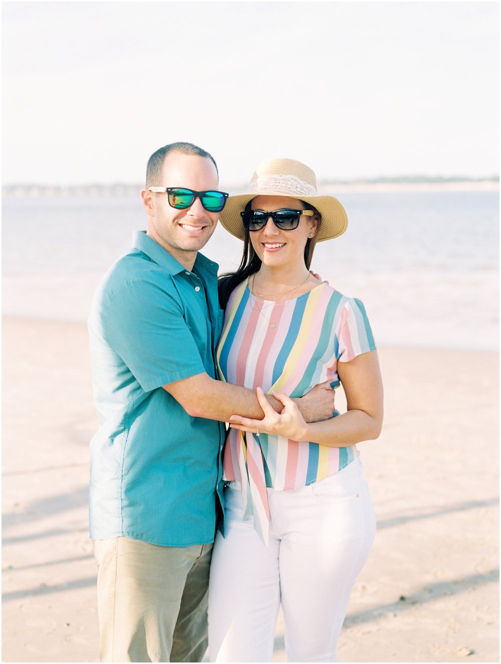 Lisa Silva Photography -Engagement Session at Big Talbot Island- Jacksonville and North East Florida Fine Art Film Photographer_0026.jpg