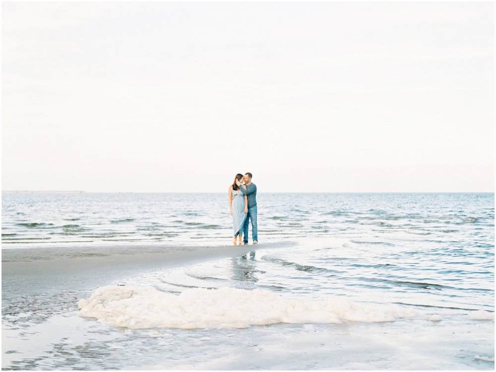 Lisa Silva Photography -Engagement Session at Big Talbot Island- Jacksonville and North East Florida Fine Art Film Photographer_0051.jpg