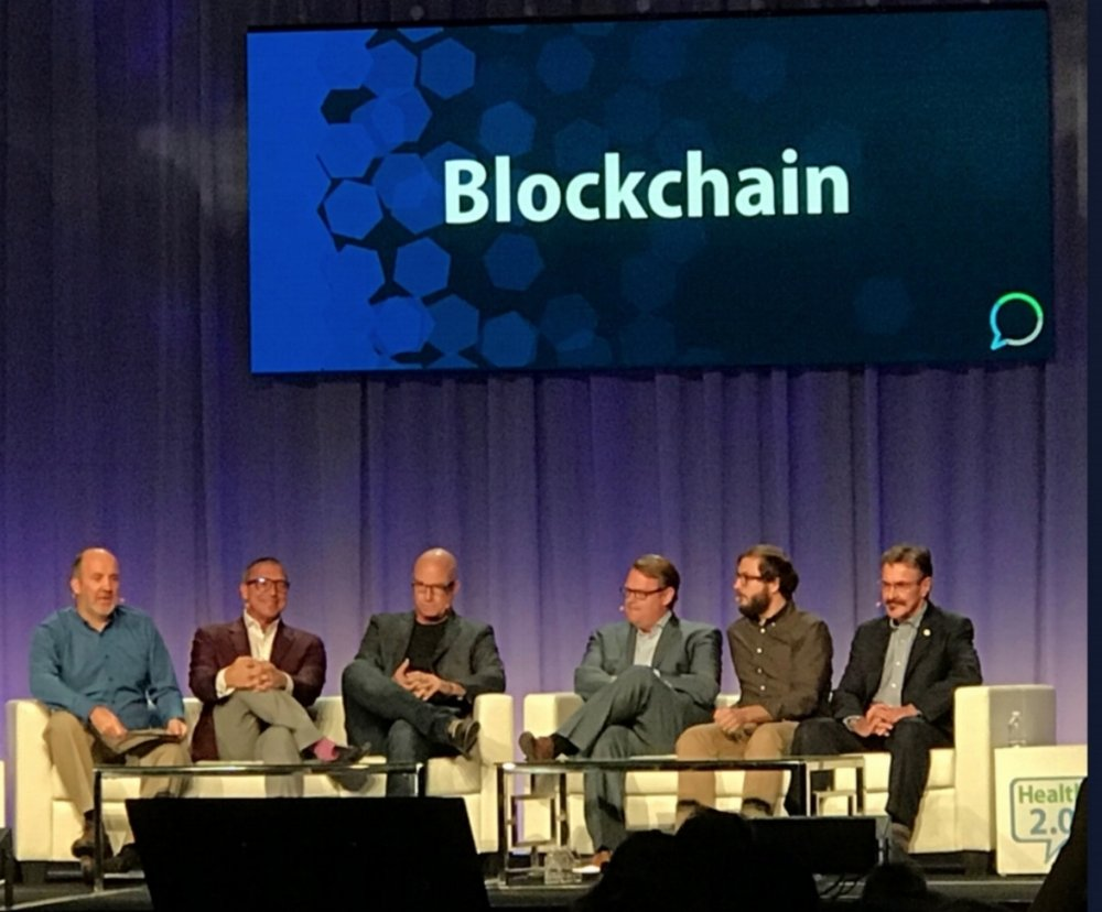 Jack Lewin at Health 2.0 Fall 2017 Blockchain Panel