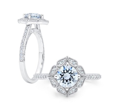 halo shop in ireland h ring rings white carat style k dublin clarity gold aria classic jewellery engagement diamond color