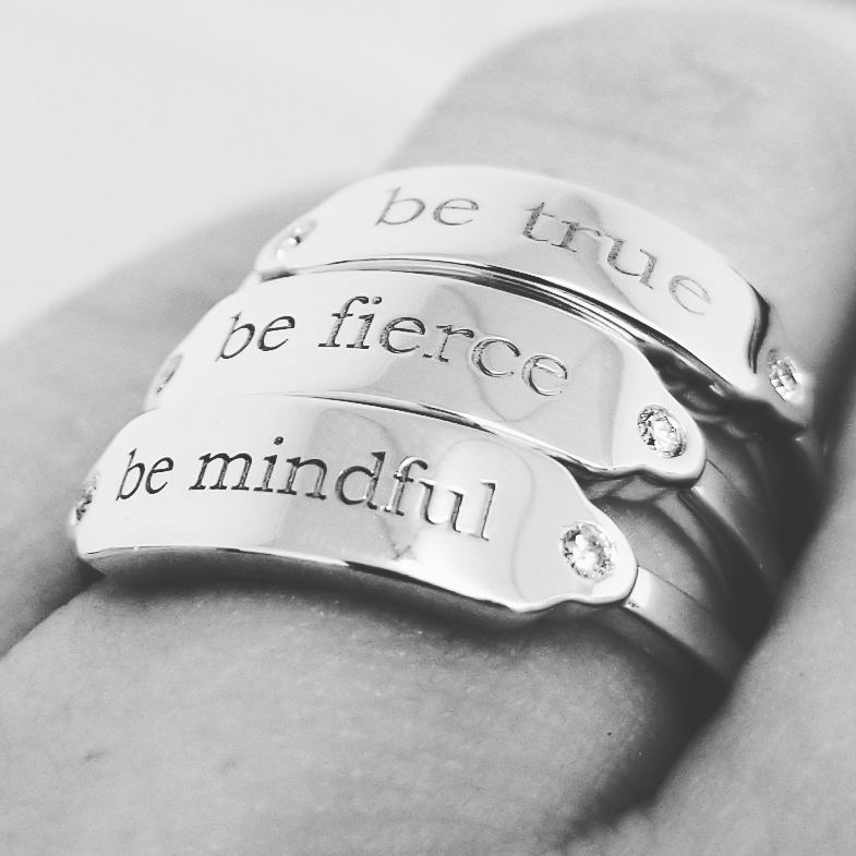 Sterling Silver Little Reminders Rings