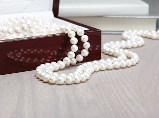 Pearl jewelry care and cleaning