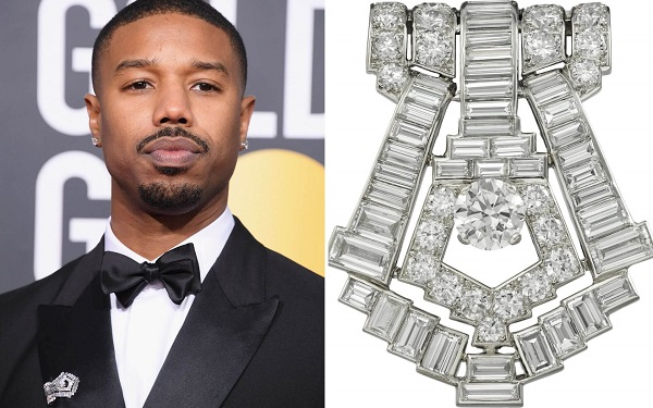 Michael B. Jordan in Vintage Cartier