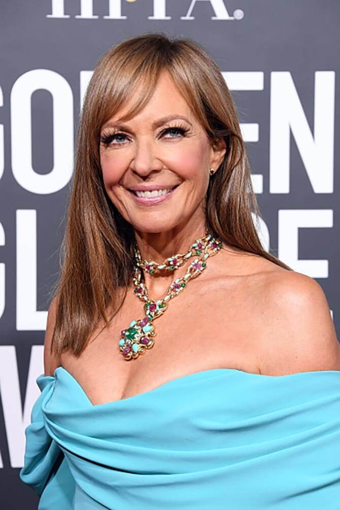 Allison Janney in David Wedd Necklace