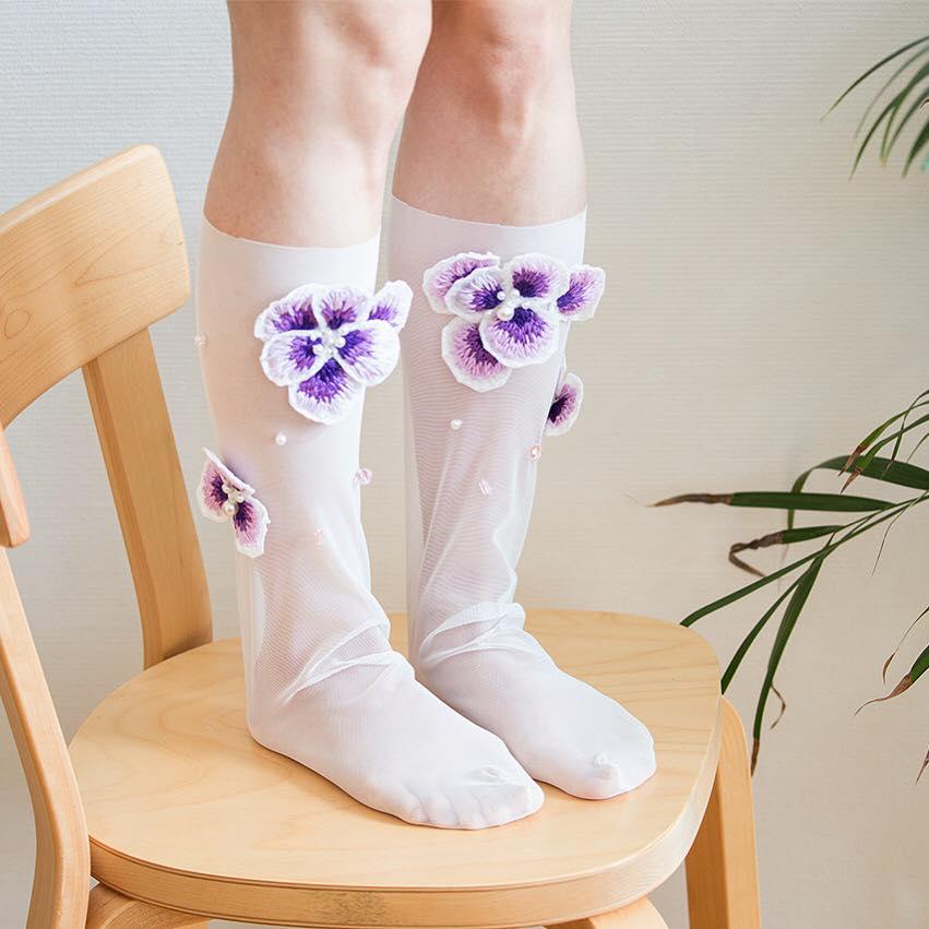 Tulle socks