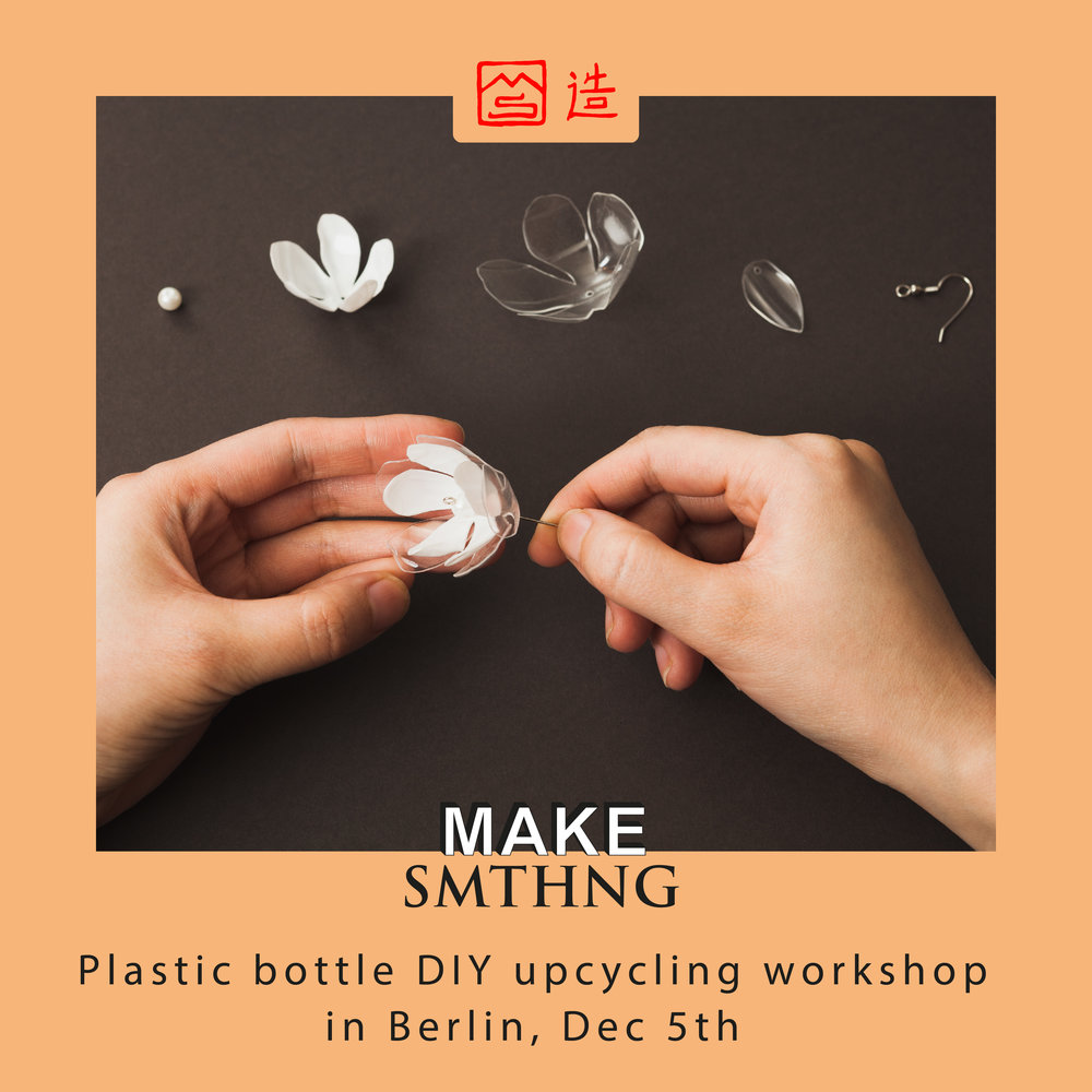 Upcycling Berlin plastic bottle diy upcycling jewelry workshop in berlin — upcycle
