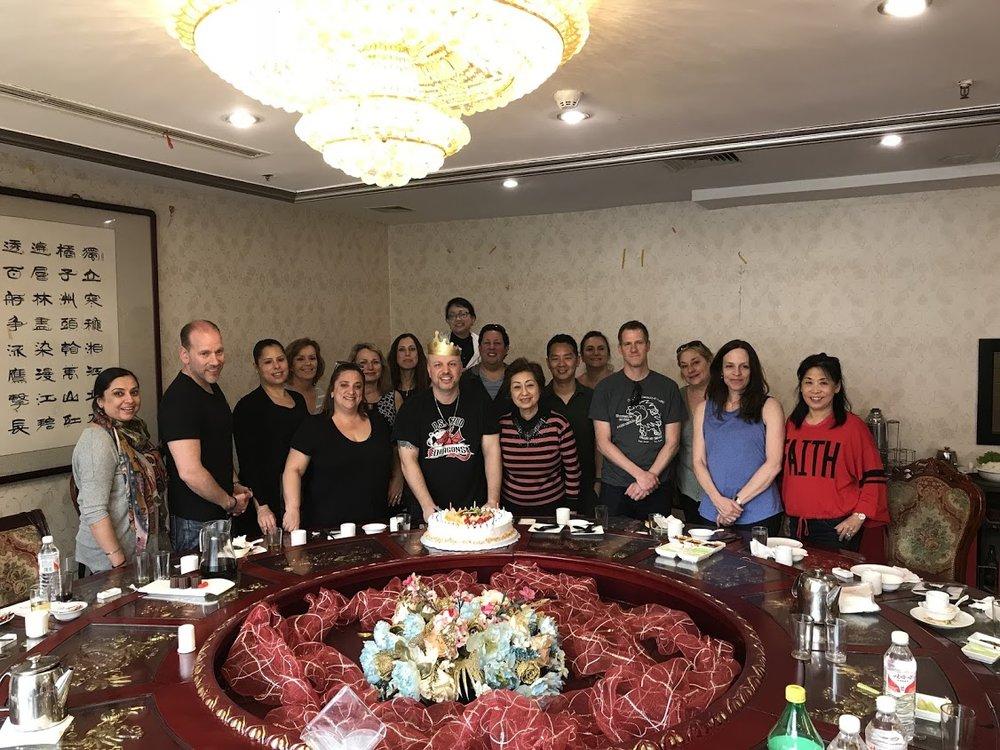 Celebrating my birthday in Beijing