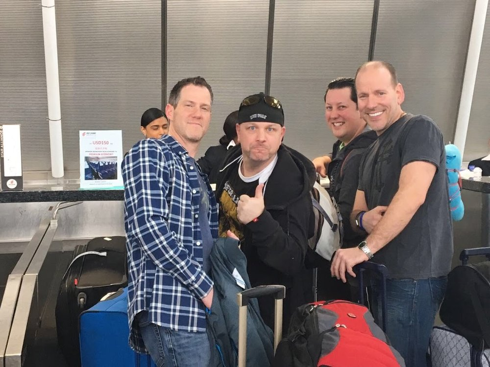 Traveling with Principals Swirsky, Groff and Abbott