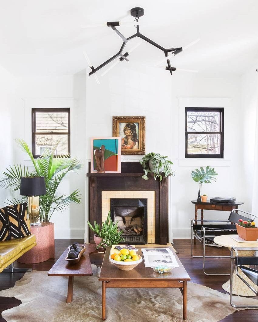 you'll want to pin this entire eclectic nashville home to your rock n roll chic pinterest board - my domaine, august 2018
