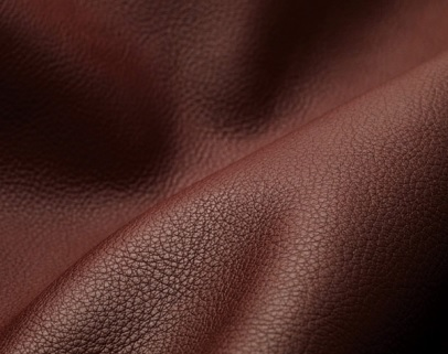 aniline leather  Leather that hasits grain surface substantially intact which is dyed but has not received a pigmented coating. The grain layer extends from the grain surface to the hair roats .