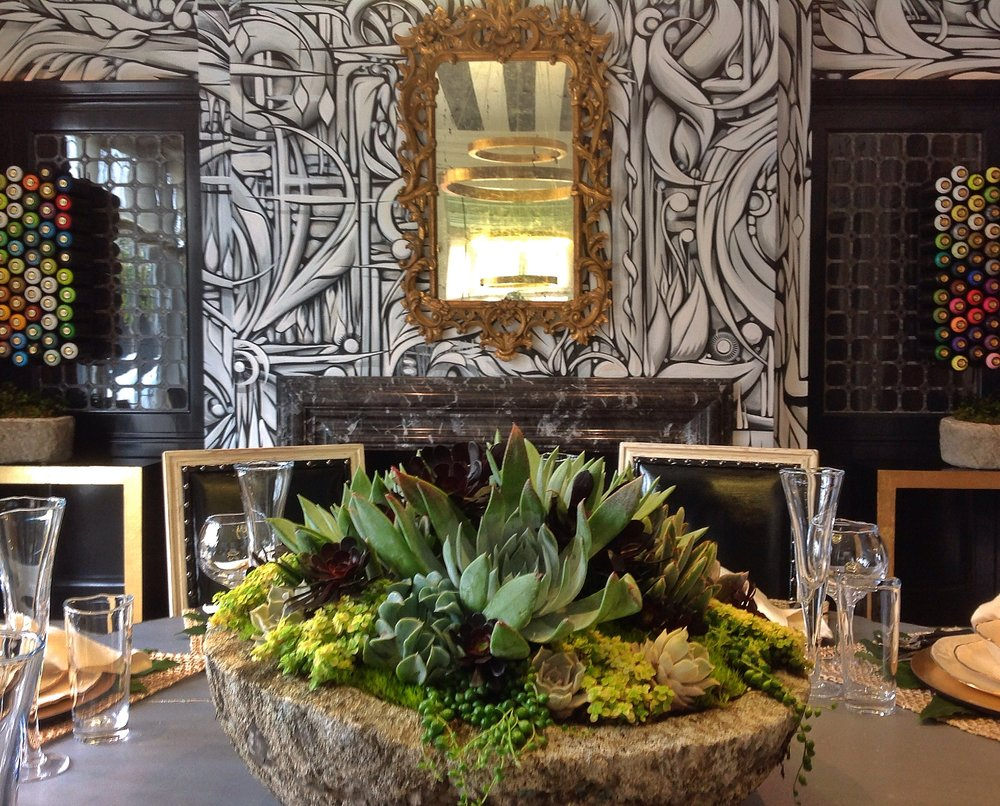Cecilie Starin Design's  2015 SF Decorator's Showcase room