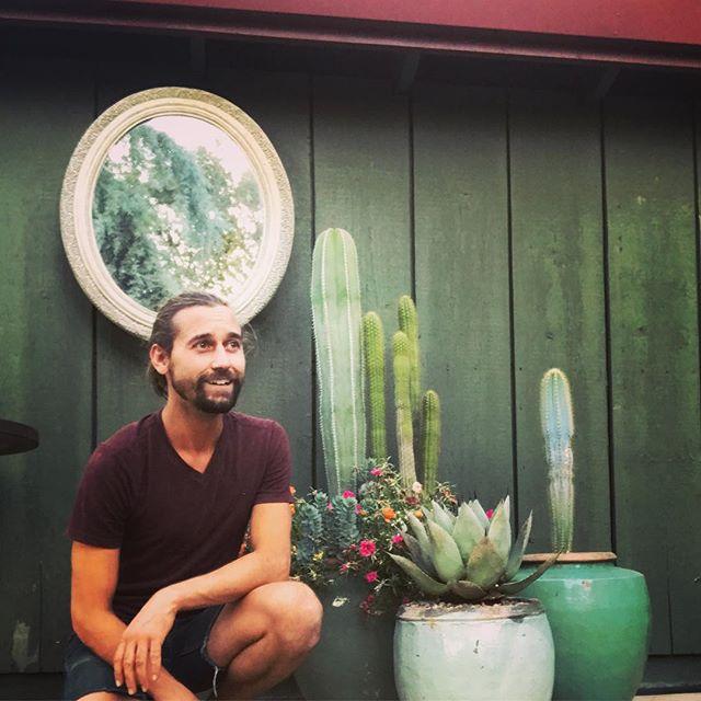 Cactus garden.  #containergardening #cactus #plantsmakepeoplehappy #plants #garden #gardendesign #mirror @boyswithplants #droughttolerant #CV #sanjoaquin #route120 #california