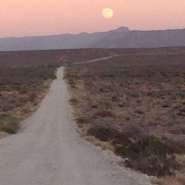 The road to San Juanico, aka Scorpion Bay.