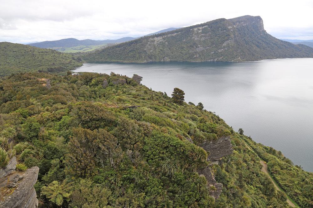 Lake Waikaremoana from Lou's lookout