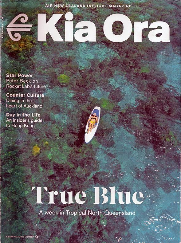 Kia Ora Magazine cover - February 2018
