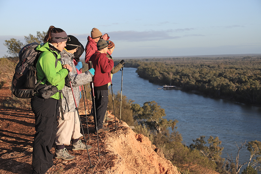 This adventure is one of the country's Great Walks and there are about a dozen of them up and down the vast island nation, from the Top End to Tassie.