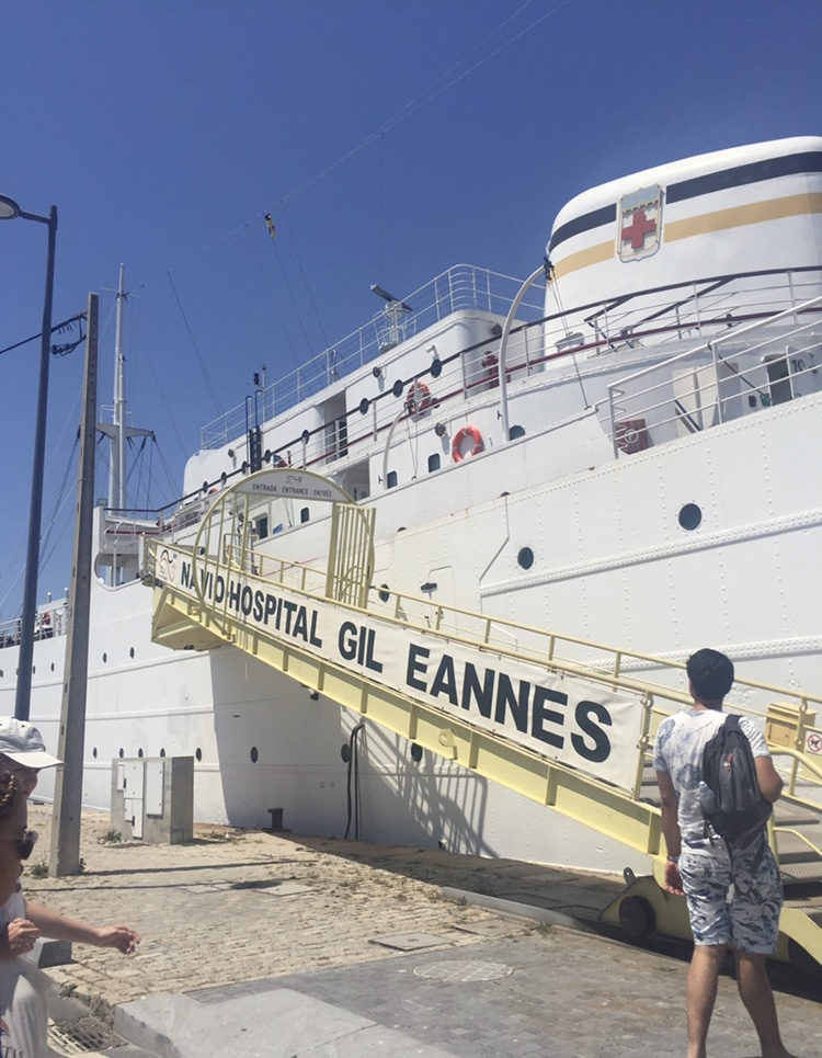 Exterior of the hospital ship that served the Portuguese White Fleet on Newfoundland's Grand Banks