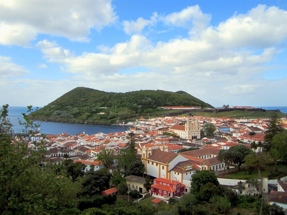 The first Atlantis Fellowship location, Angra do Heroismo, Portugal