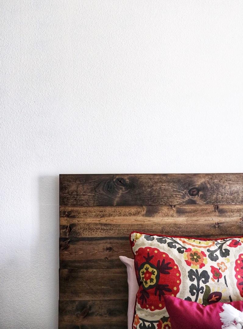 Easy Wooden Headboard Diy Darling
