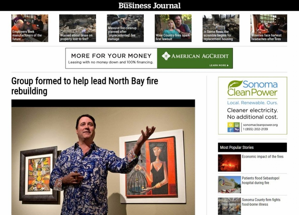 OCT 11, 2017 | North Day Business Journal