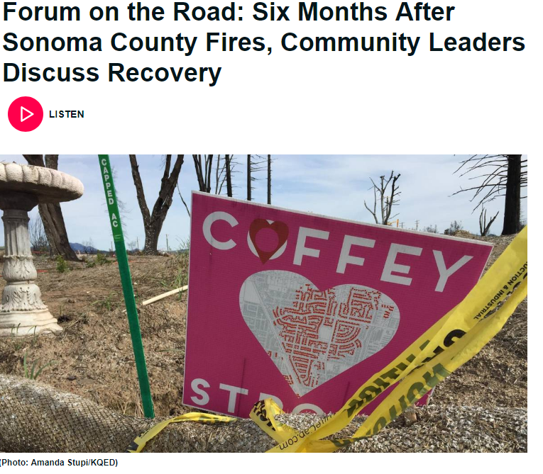 APRIL 6, 2018 | KQED Forum on the Road