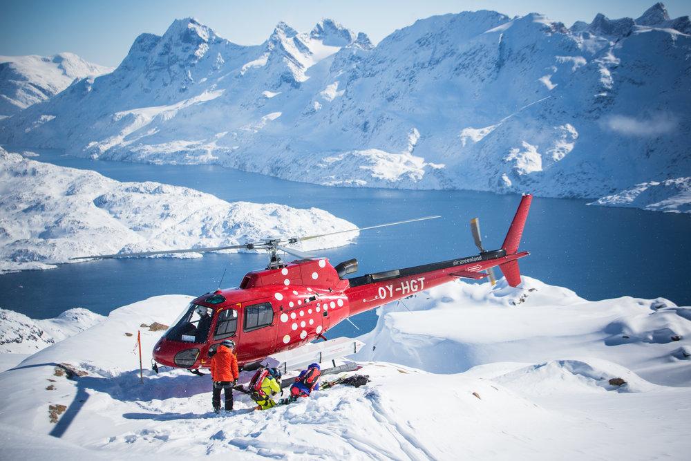 Powderbird Helicopter - Astar