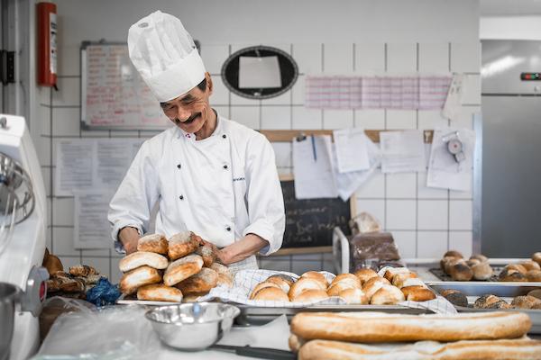 The baker at work at Hotel Narsaq in South Greenland.jpg