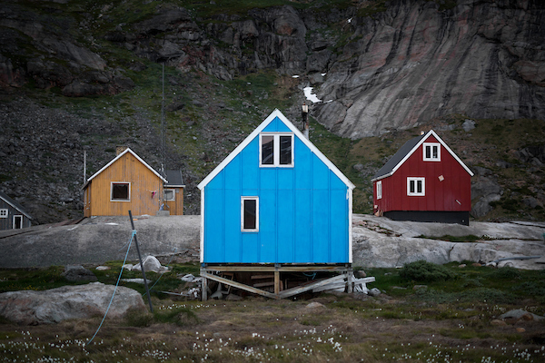 Typical colourful houses in Greenland - these ones in Aappilattoq in South Greenland.jpg