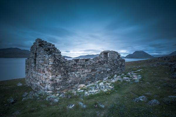 The Hvalsey church ruins near Qaqortoq, by Stacy William Head.jpg