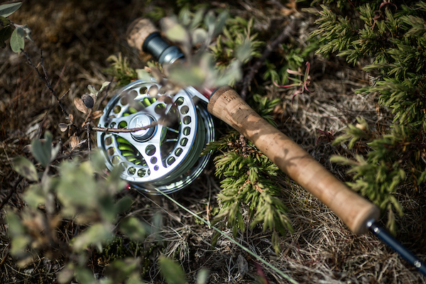 Fly fishing equipment in South Greenland.jpg