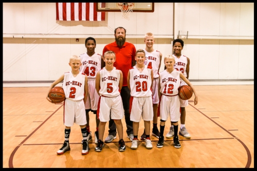 G.C. HEAT Middle School Boys coached by Chad Slagg  Coaching middle school boys can be challenging, you can have a player who has already played hundreds of games or a child who has never touched a basketball before.  My goal is giving your child a passion for the sport that they can play by themselves or with others.  It is also one of the only sports you can play your entire life.  Teaching FUNdamentals is goal #1 at the MS level, Team work is goal #2.  From these goals we can develop your young athlete into tomorrow's High School player or beyond to the college level.  We will develop the skills needed to be successful at any level of play your child desires.