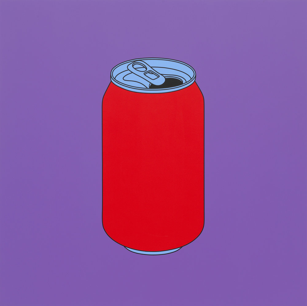 Michael Craig-Martin, Untitled (coke can), 2014.jpg