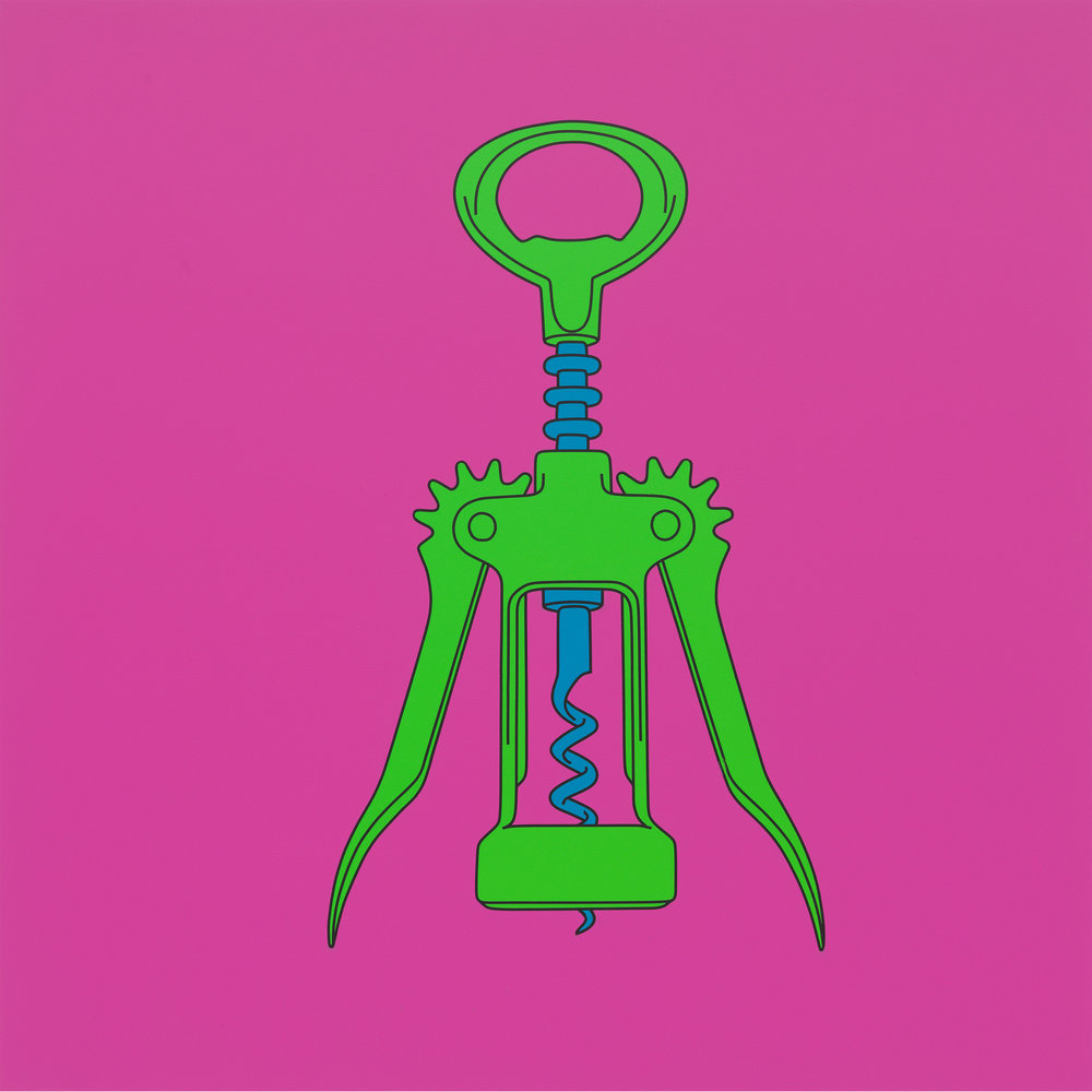 Michael Craig-Martin, Untitled (corkscrew), 2014.jpg