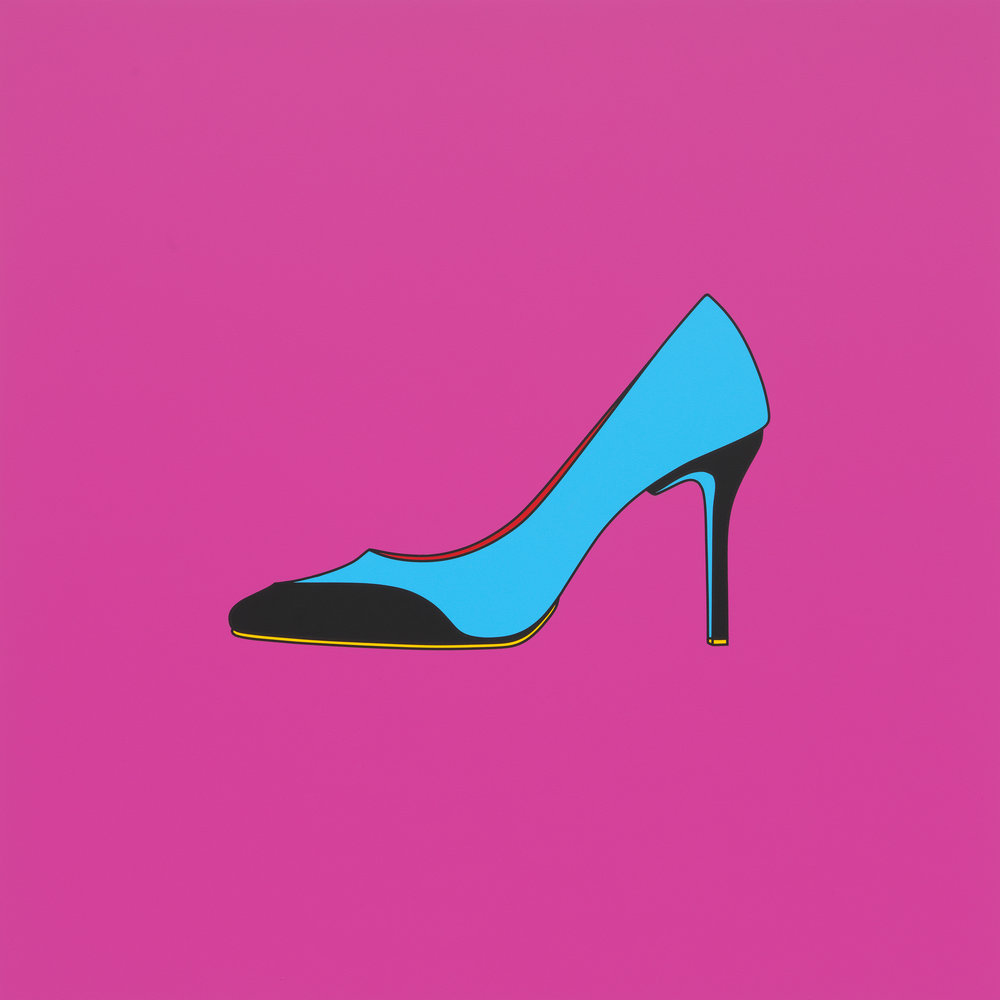 Michael Craig-Martin, Untitled (high heel), 2014.jpg