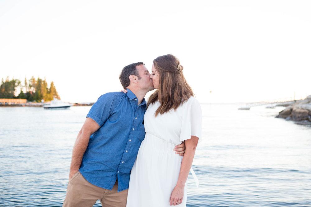 Chris + Julia's Casually Awesome, No Frills, Maine Destination Wedding -
