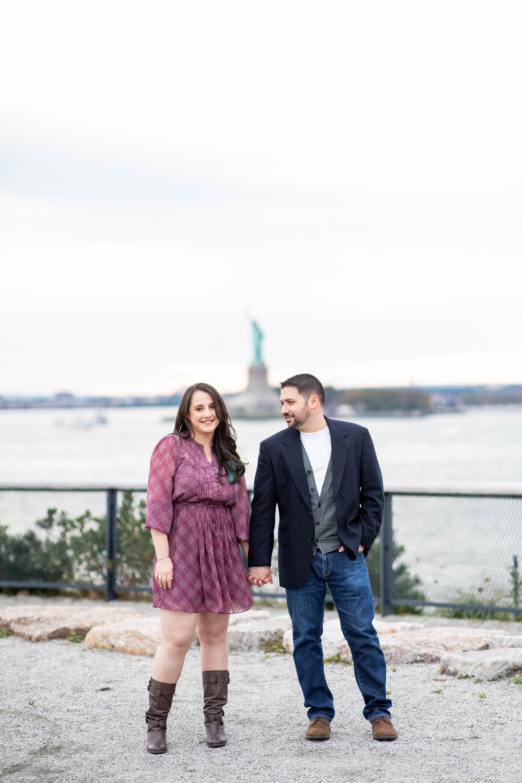 Shaina & David's Governors Island Engagement Shoot -