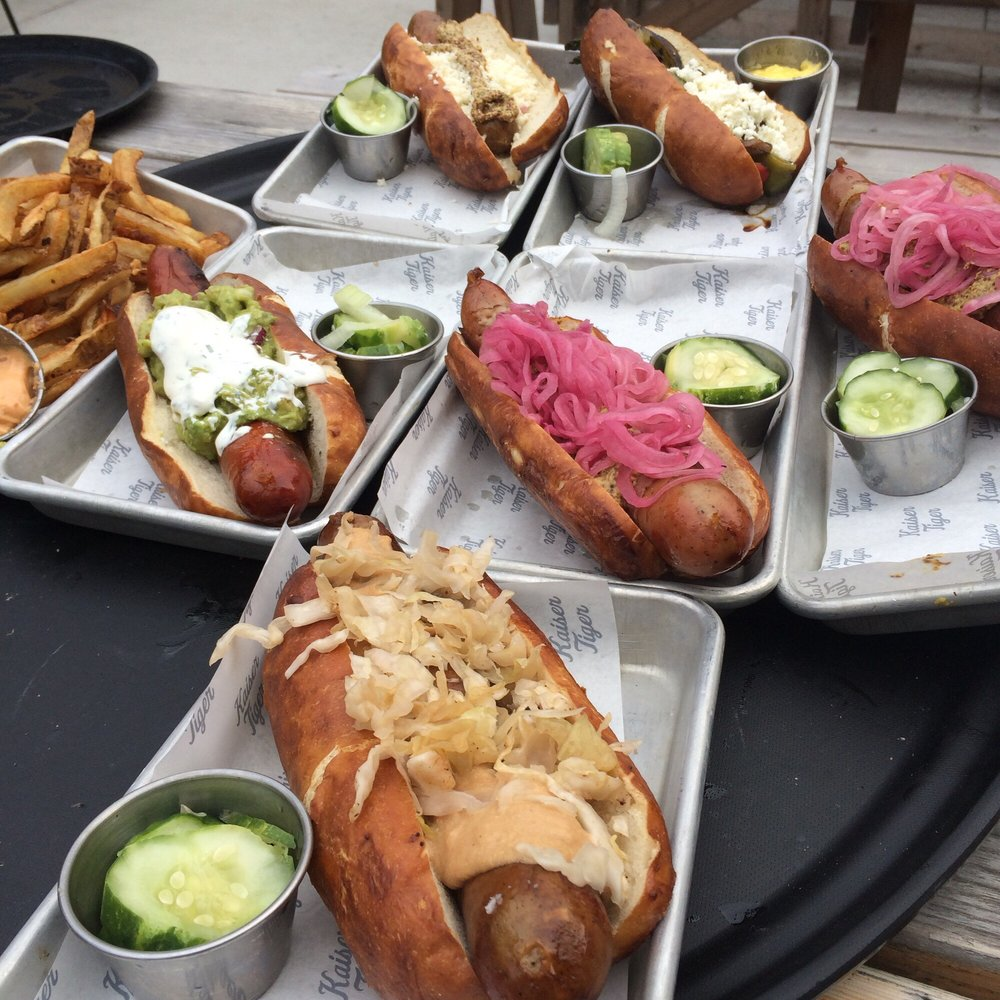 Kaiser Tiger - $$, West Loop, Bar & Grill, Gastropub, Bohemian, Sidewalk Seating, Patio Seating, Dog Friendly