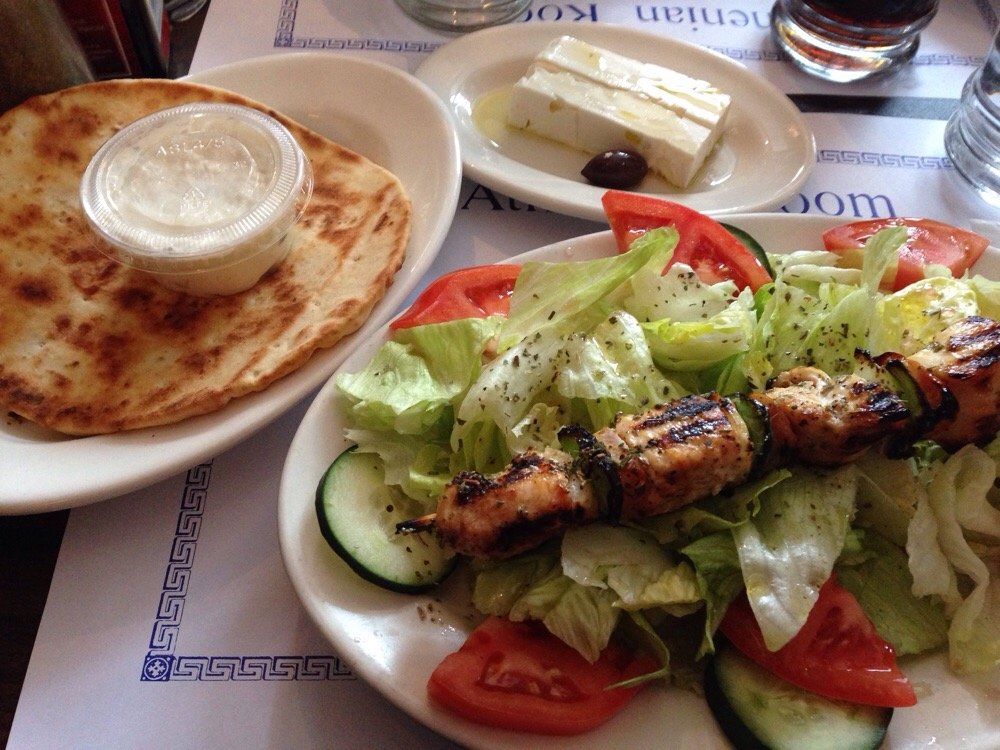Athenian Room - $$, Lincoln Park, Greek, Mediterranean, Outdoor Seating (Sidewalk)