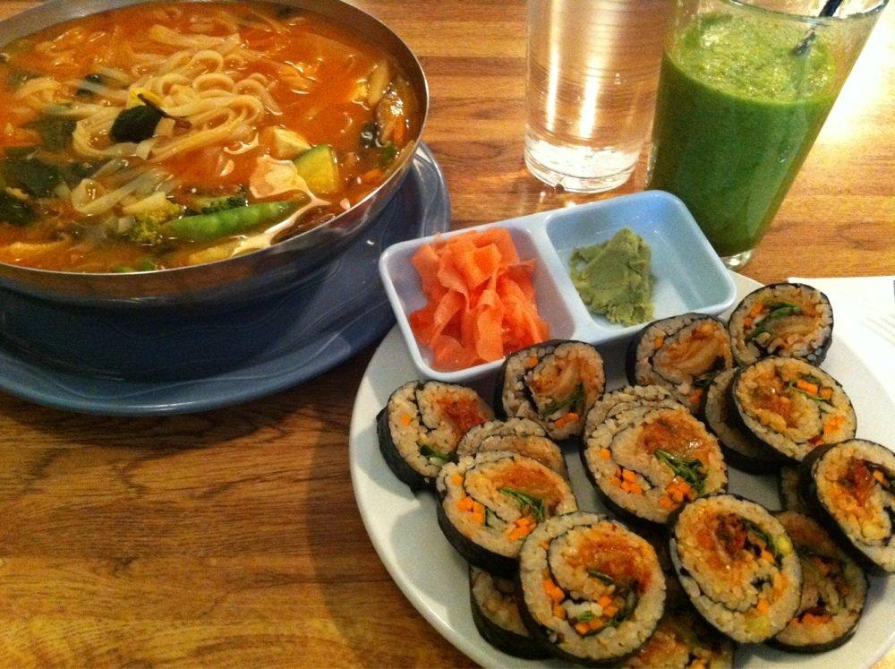 Amitabul - $$,Norwood Park,Korean,Vegetarian,Vegan