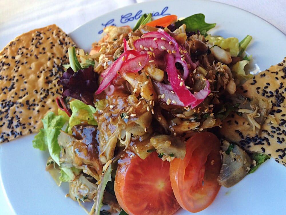 Le Colonial - $$$,Gold Coast,Vietnamese,Vegetarian,Vegan,Gluten-free,Sidewalk Seating