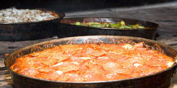 Pequod's Pizza - $$, Lincoln Park, Pizza