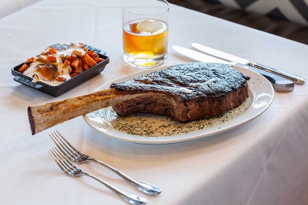Steak 48   - $$$$, River North, Steakhouse, Seafood, Gluten-free, Rooftop