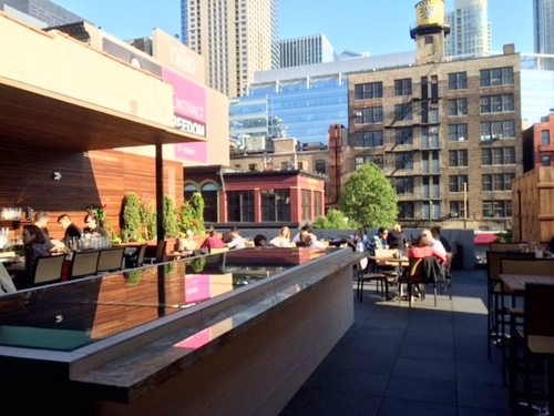 Tanta - $$$, River North, Peruvian, Rooftop